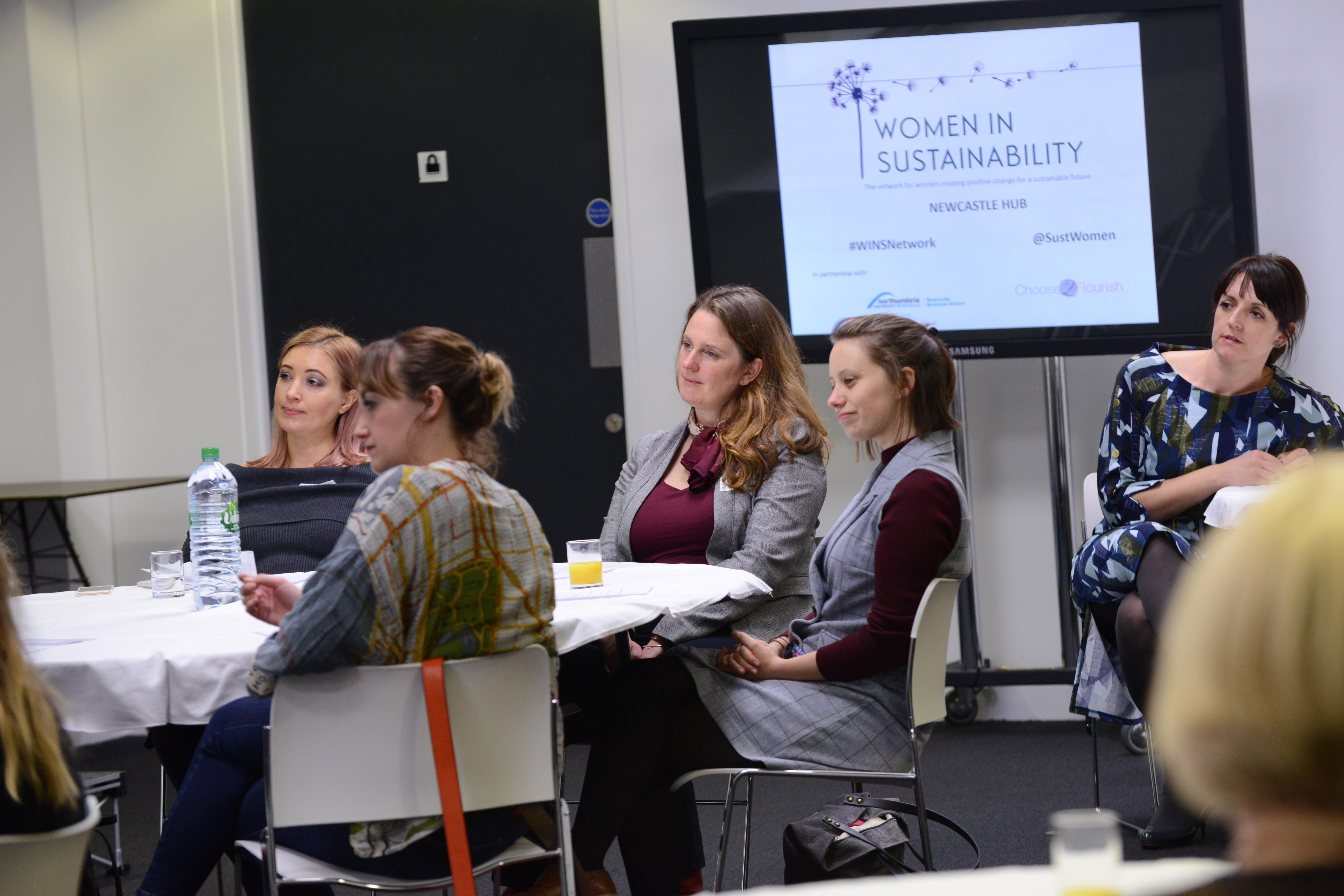 women in sustainability Newcastle