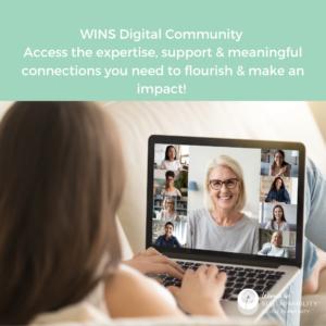 WINS Digital Community Opening to New Members Soon